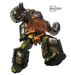 Bad Cube OTS-02 BRAWNY (Reissue)