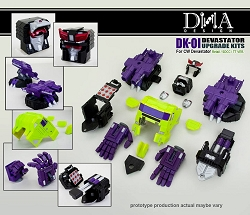 DNA Design DK-01 UPGRADE KIT FOR TITAN CLASS DEVASTATOR