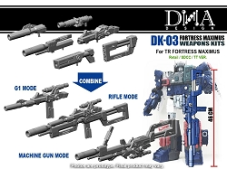 DNA Design DK-03 FORTRESS MAXIMUS WEAPONS KITS