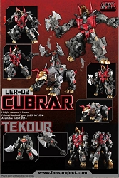 Fans Project LER-02 Cubrar and Tekour
