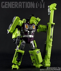 Generation Toy Gravity Builder GT-01F CRANE