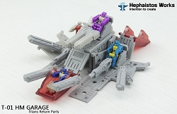 Hephaistos Works T-01 HM GARAGE