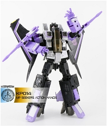 KFC Toys KP-14SW Articulated Hands for MP Skywarp