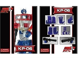 KFC HANDS & GUN FOR HASBRO MP-10 OPTIMUS PRIME
