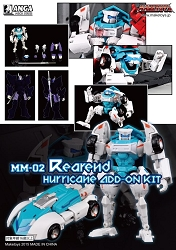 MakeToys MM-02 Manga Mech Series  REAR END