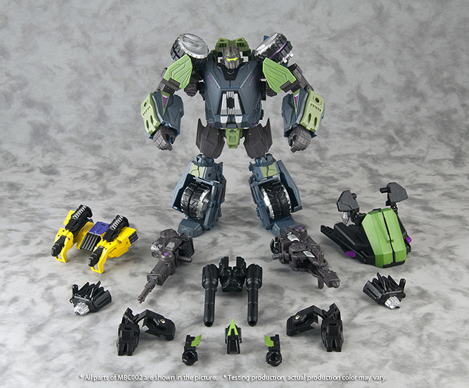 List Of Transformers >> Microblaze Creations - MILITARY TITANS