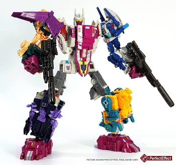 Perfect Effect PC-24 Perfect Combiner Upgrade Kit for POTP Abominus