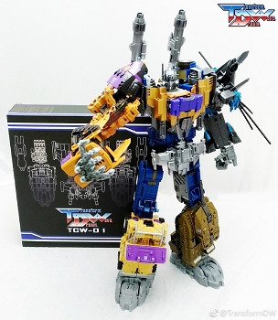 Transform Dream Wave TCW-01 Upgrade kit for Bruticus