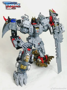 Transform Dream Wave TCW-06 Upgrade kit for Volcanicus / Dinobots