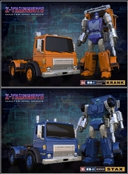 X-Transbots - KRANK AND STAX (Set of 2)