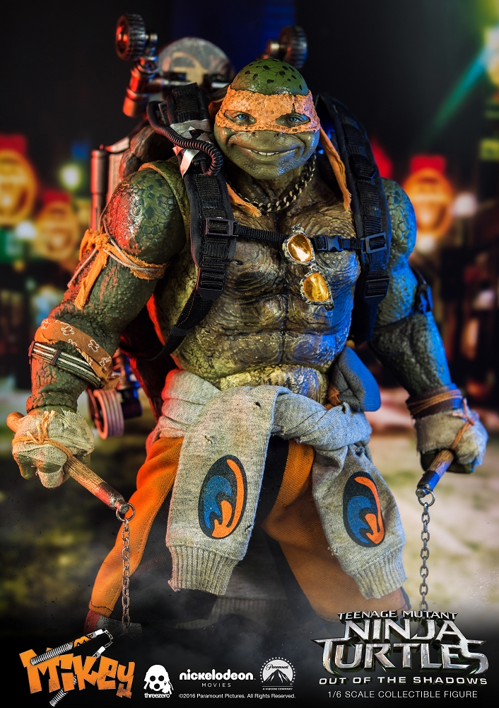 world of 3a michelangelo 1 6th scale figure