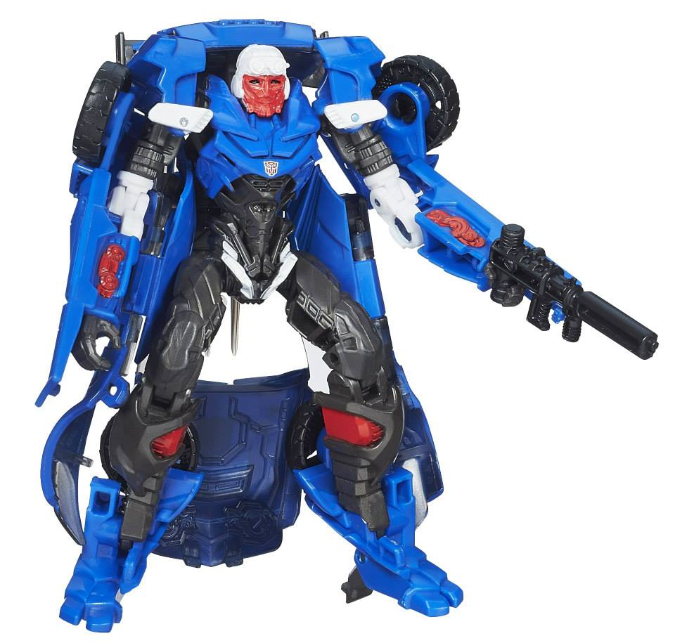 hasbro age of extinction deluxe class hot shot