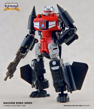 Action Toys Machine Robo MR-06 BLACKBIRD ROBO