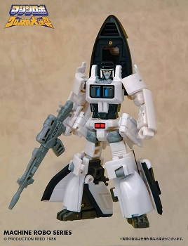 Action Toys Machine Robo MR-07 SHUTTLE ROBO
