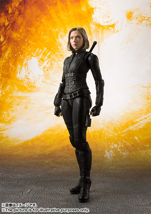 S H Figuarts Avengers Infinity War Black Widow