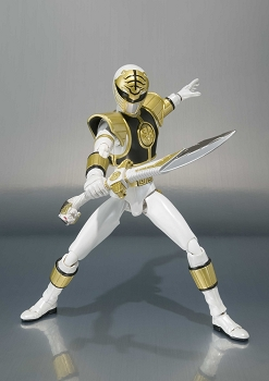 S.H. Figuarts Mighty Morphin Power Rangers - WHITE RANGER