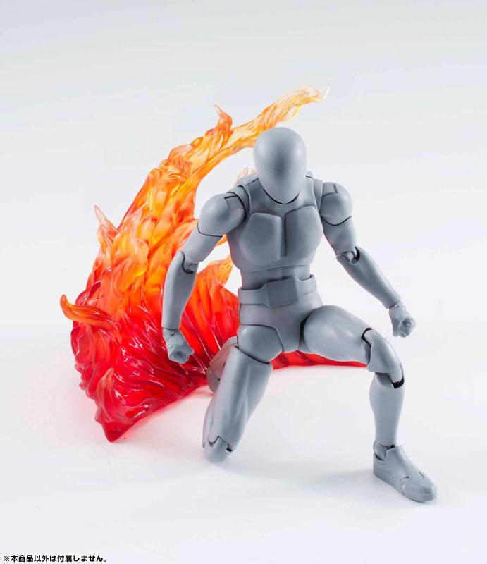 Tamashii Effect Part Burning Flame Red