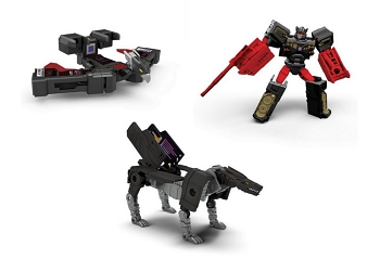 Hasbro Titans Return Legends WAVE 2 SET of 3 (Rumble, Ravage, and Laserbeak)