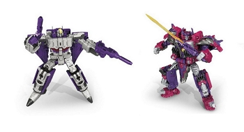 Hasbro Titans Return Voyager Alpha Trion and Astrotrain