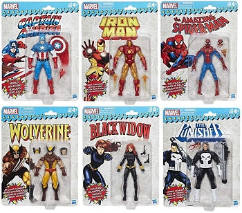Marvel Legends Vintage Series Wave 1 Set
