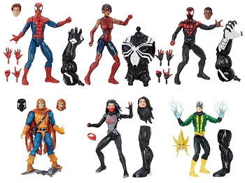 Marvel Legends AMAZING SPIDERMAN Wave 4 - BAF Space Venom