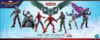 Marvel Legends Spiderman Homecoming - BAF Vulture Flight Gear Case