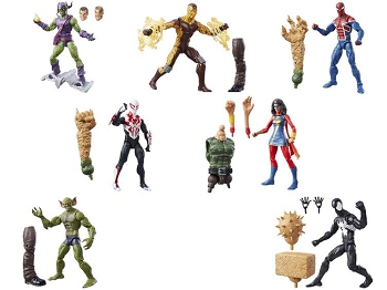 Marvel Legends Infinite Spiderman - BAF Sandman