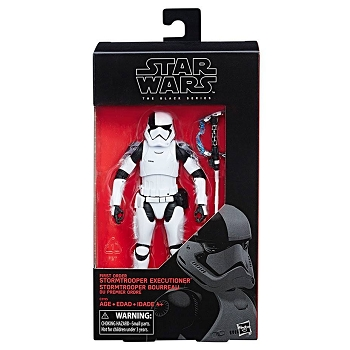 Star Wars Black Series FIRST ORDER STORMTROOPER EXECUTIONER