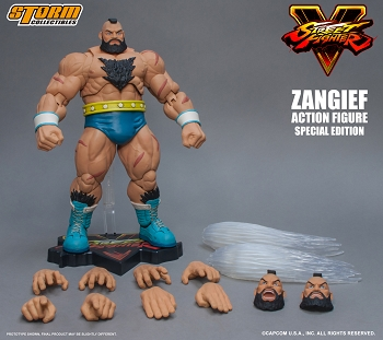 Storm Collectibles Street Fighter ZANGIEF (SPECIAL EDITION)