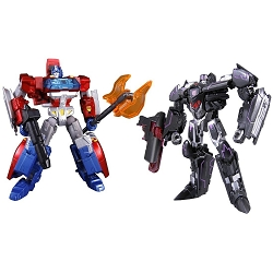 Takara Tomy Generations - Deluxe Class ORION PAX & MEGATRONUS 2 Pack