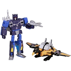 Takara Tomy Masterpiece MP-16 - FRENZY AND BUZZSAW (Reissue)