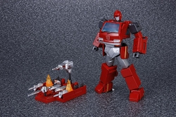 Takara Masterpiece MP-27 Ironhide with Drill Weapon