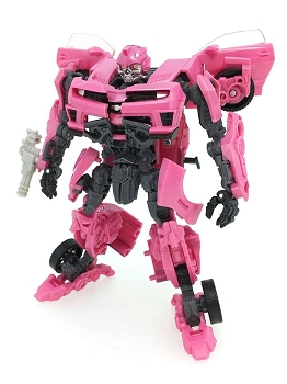 Takara Movie Anniversary MB-EX LASERBEAK (Pink Bumblebee)