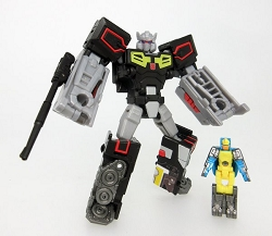 Takara Tomy Legends - Legends Class REWIND AND NIGHTBEAT