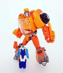 Takara Tomy Legends - Legends Class WHEELIE AND GOSHOOTER (Reissue)