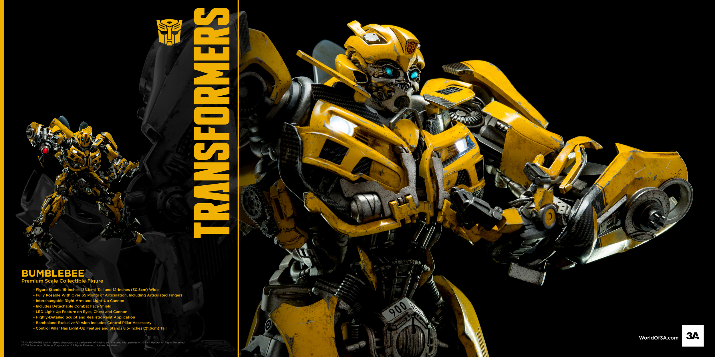 World Of 3a Movie Bumblebee