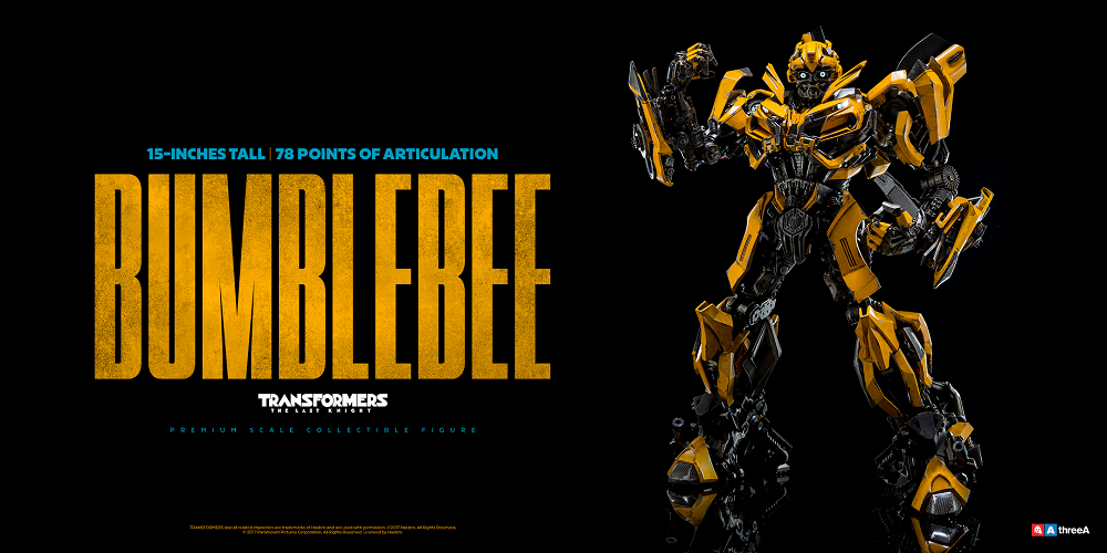 World Of 3A The Last Knight BUMBLEBEE From ThreeA