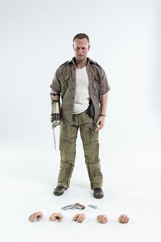 World of 3A The Walking Dead - Merle Dixon 1/6th Scale Figure