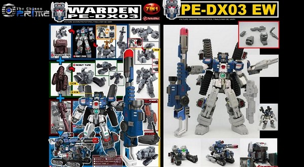 Perfect Effect WARDEN Super Robot Special