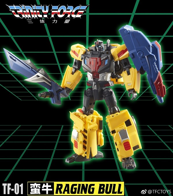 TFC Toys Trinity Force TF-01 RAGING BULL
