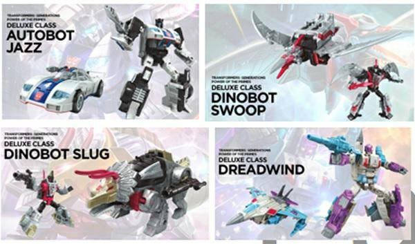 Power of the Primes DELUXE Wave 1 Set