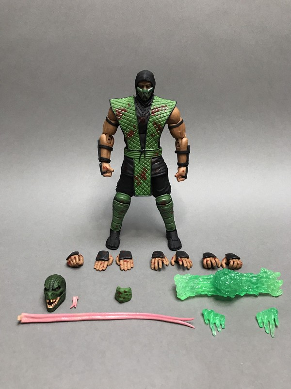 Storm Collectibles Mortal Kombat REPTILE (Special Edition)