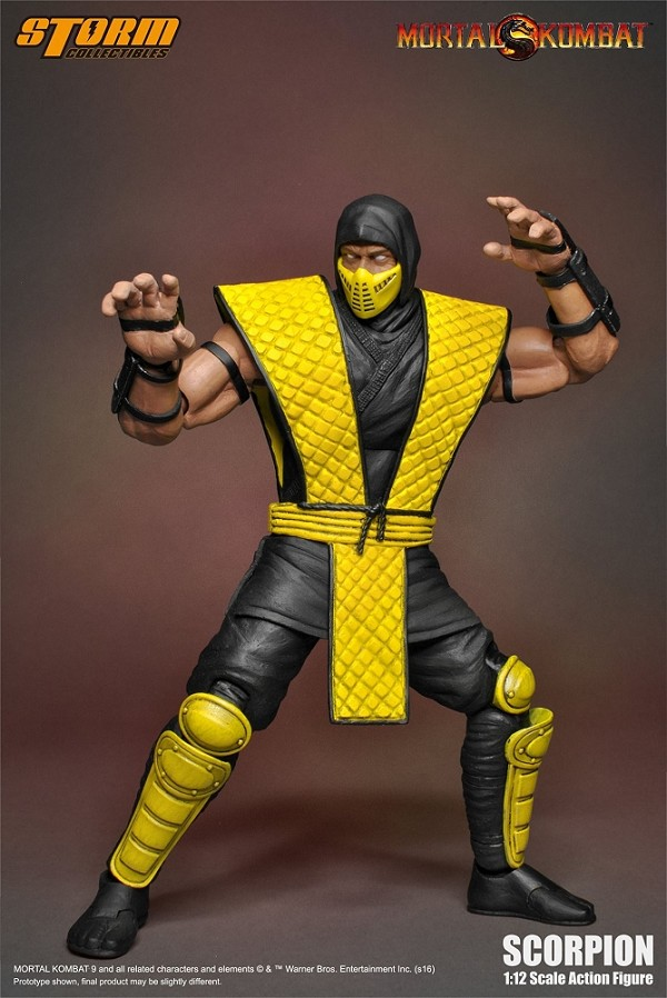 Storm Collectibles Mortal Kombat SCORPION