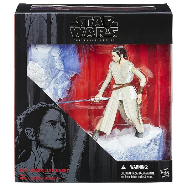 "Star Wars Episode VII Black Series 6"" Rey (Star Killer Base)"