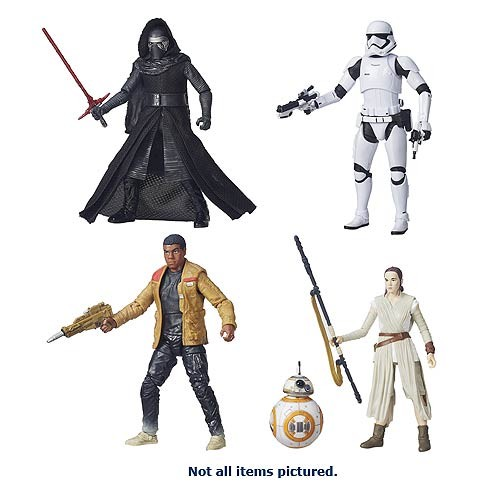 "Star Wars 2015 Episode VII Black Series 6"" Wave 3"