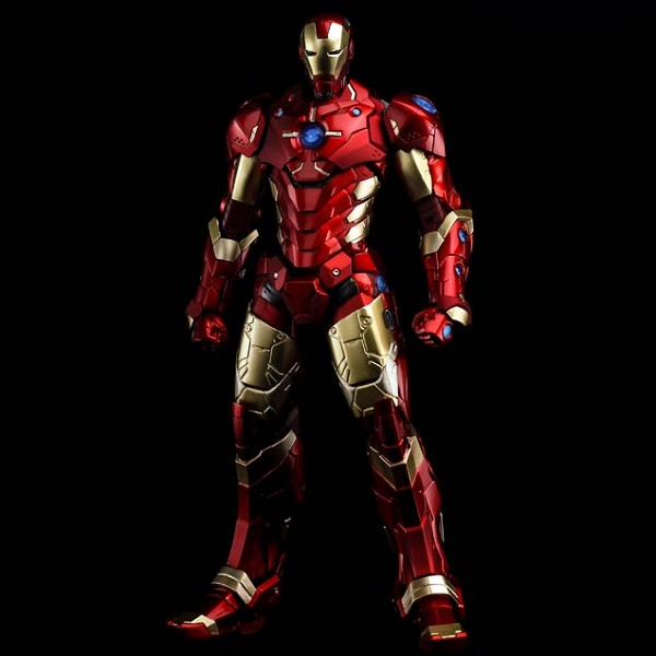 SEN-TI-NEL RE:EDIT IRON MAN NOW RED & GOLD