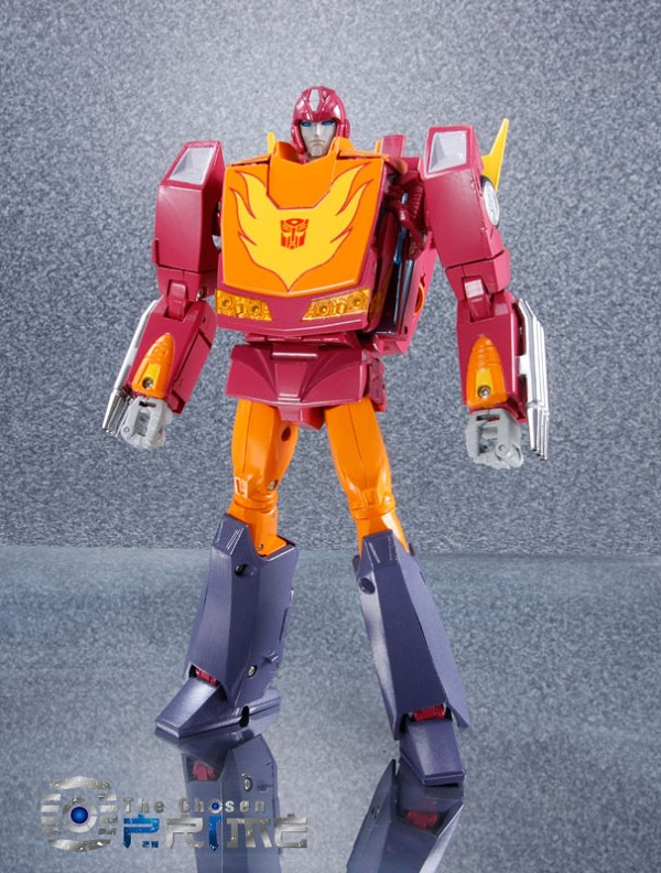 Takara Masterpiece MP-28 HOT ROD w/coin