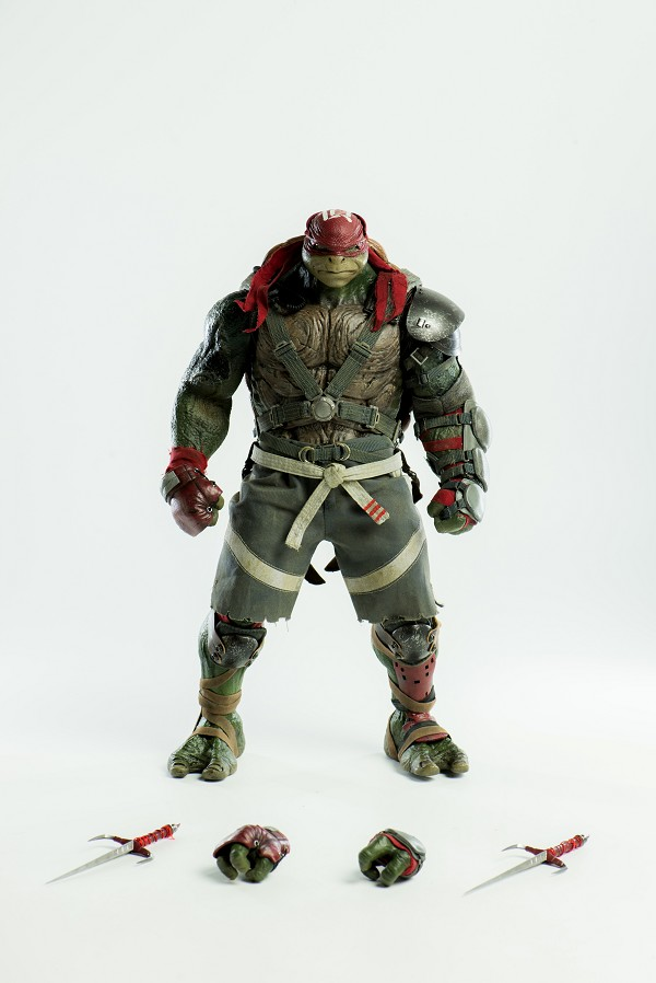 World of 3A TMNT Out of the Shadows RAPHAEL 1/6 Scale Figure