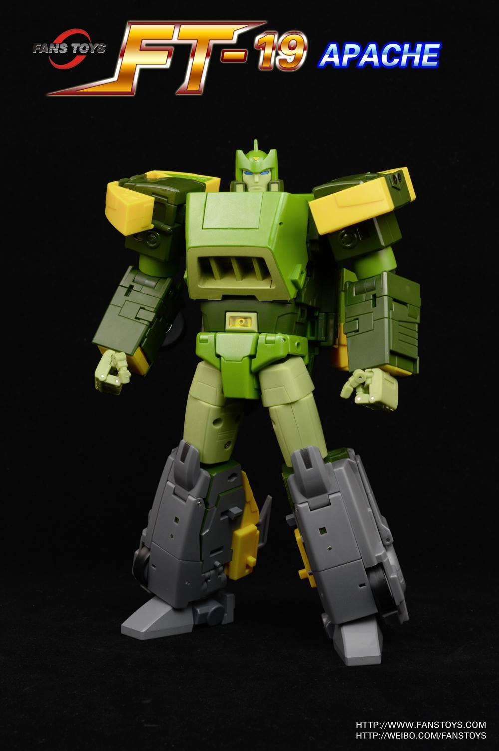 List Of Transformers >> Fans Toys FT19 Apache (Springer)