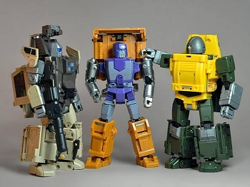Bad Cube OTS-02 BRAWNY & OTS-03 BACKLAND (2 Pack - Reissue)